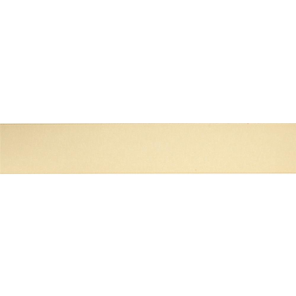 1 1/2'' Grosgrain Solid Ribbon Cream