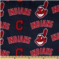 MLB Fleece Cleveland Indians Blue/Red