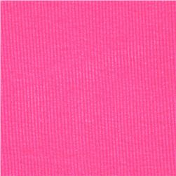 Basic Cotton Rib Knit Cotton Candy Pink
