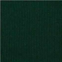 Wife Rib Knit Hunter Green