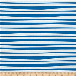 Monkey's Bizness Stockade Stripe Blue/White