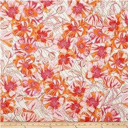 Robert Kaufman In the Bloom Large Flowers Blossom