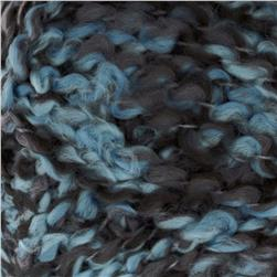 Bernat Soft Boucle' Yarn (46137) Steel Blue