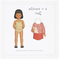 Oliver + S Book Report Dress Pattern 5-12