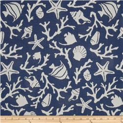 Bella Dura Eco-Friendly Indoor/Outdoor Sanibel Jacquard Blue