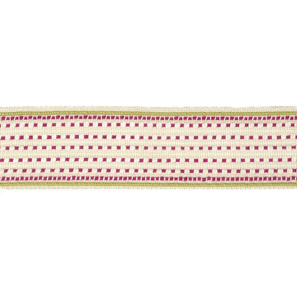 "Claridge 2 1/8"" Tape Metro Fuchsia"