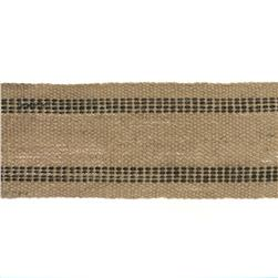 3-3/4'' Natural Jute Webbing Blue