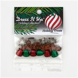 Dress It Up Embellishment Buttons  Holiday Treats