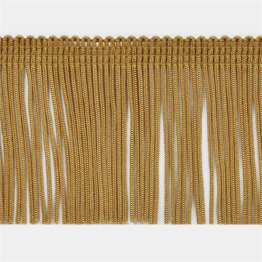 "2"" Chainette Fringe Trim Gold"