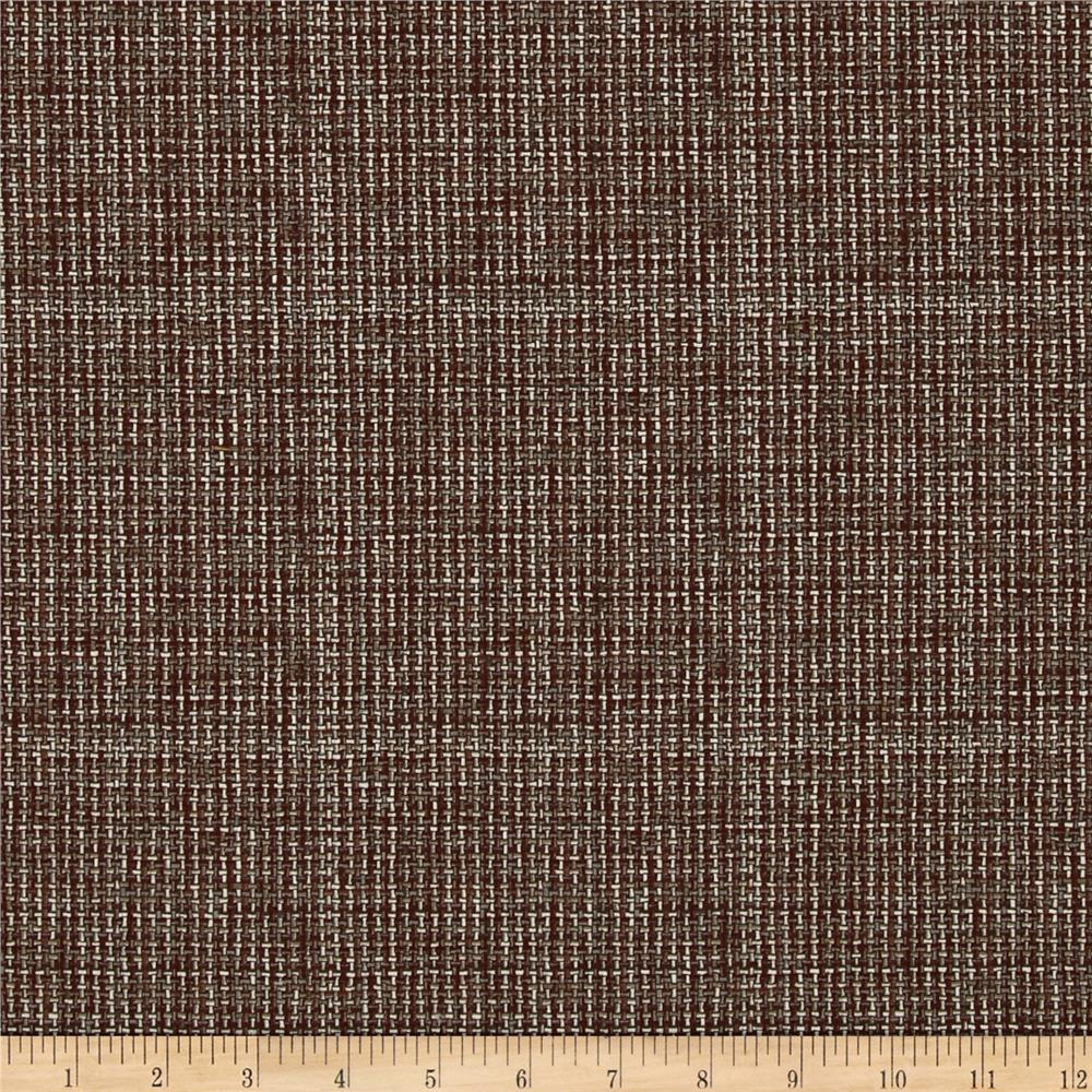 Kaufman Quilters Homespun Checkerboard Rust