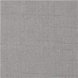 Metallic European Linen Blend Silver Medal Fabric