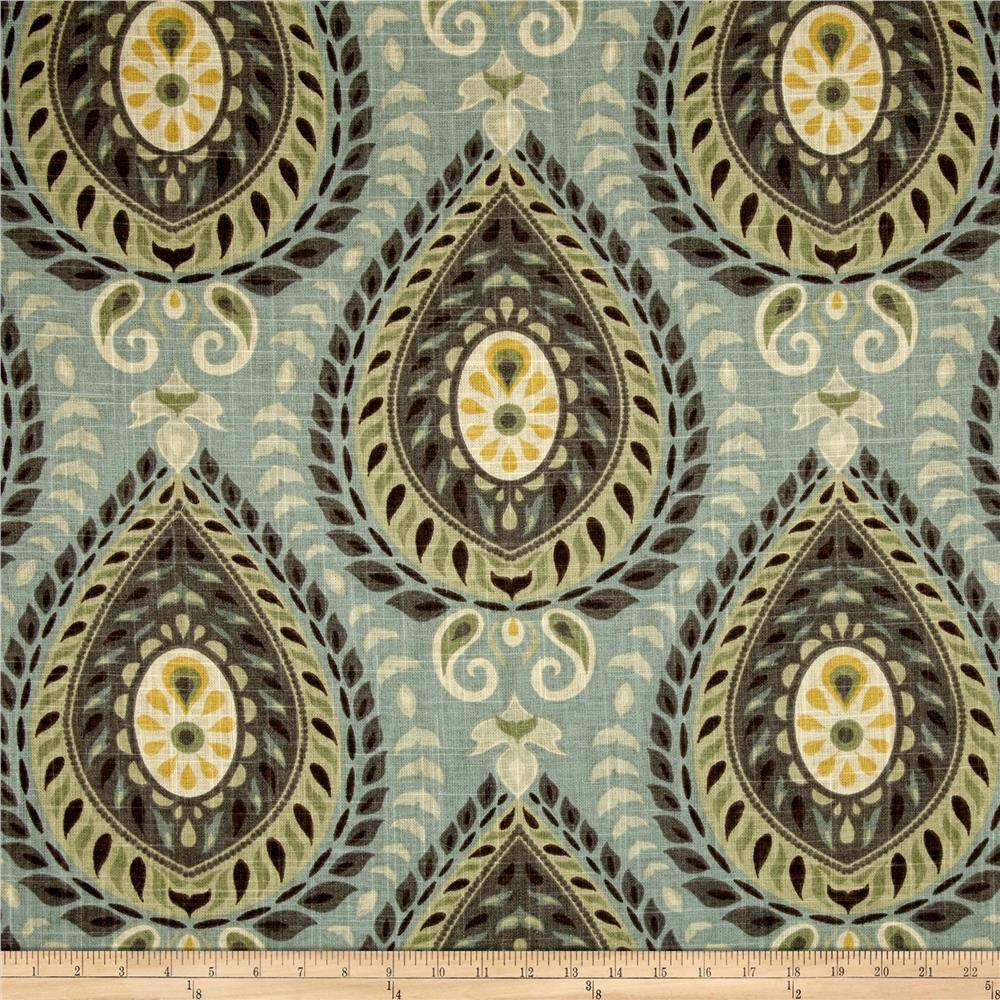 blue and green home decor fabric shop online at fabric com