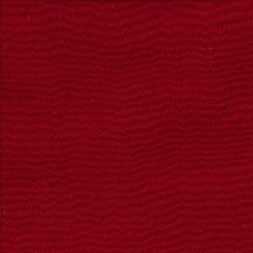 Cotton Twill Dark Red