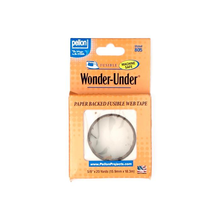 Pellon Wonder-Under 5/8'' Fusible Web Tape (Paper Backed)