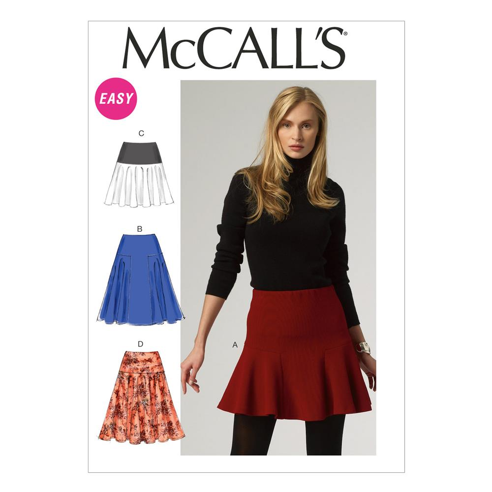 McCall's Misses' Skirts Pattern M6842 Size A50