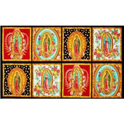 Inner Faith Metallic Panel Mary Statues Bright