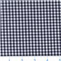 Woven 1/8'' Cotton Gingham Black
