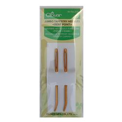 Clover Jumbo Tapestry Needles Bent Point 2 Pack