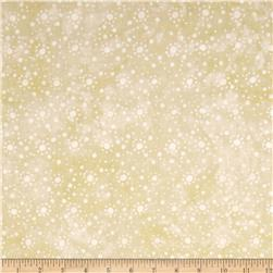 "108"" Wide Essentials Quilt Backing Dot Burst Cream"