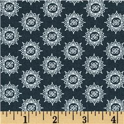 Moda Feed Company Bandana Navy Fabric