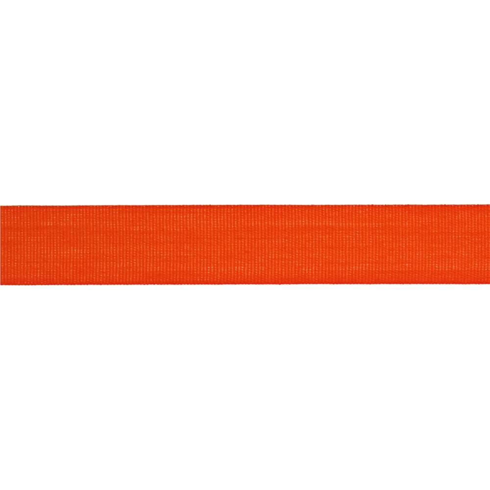 "5/8"" Faux Canvas Ribbon Orange"