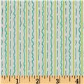 Marmalade Cottage Stripe Cream Green