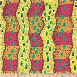 Kaffe Fassett Collective Victoria Yellow Fabric