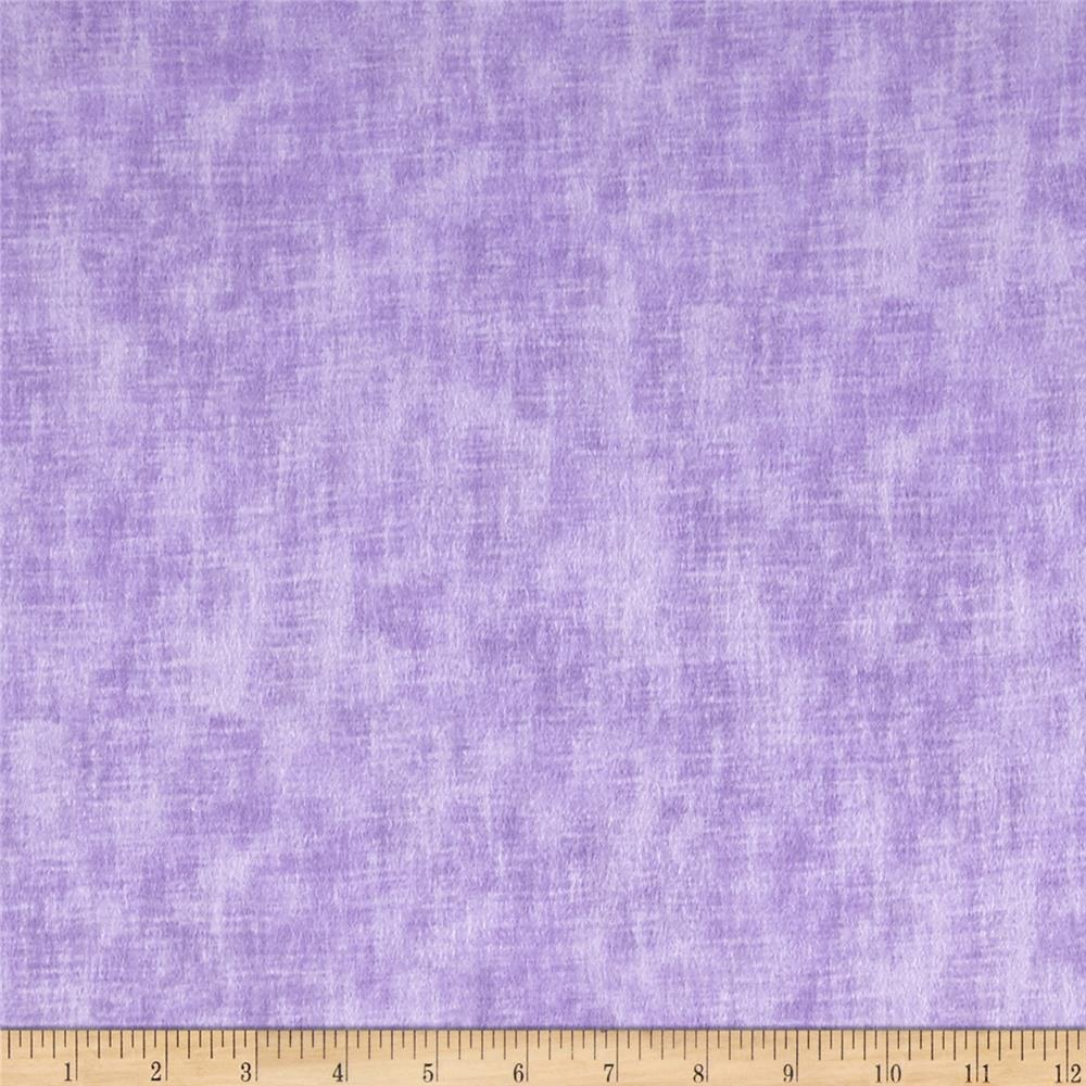 Timeless Treasures Flannel Studio Texture Lilac Fabric By The Yard
