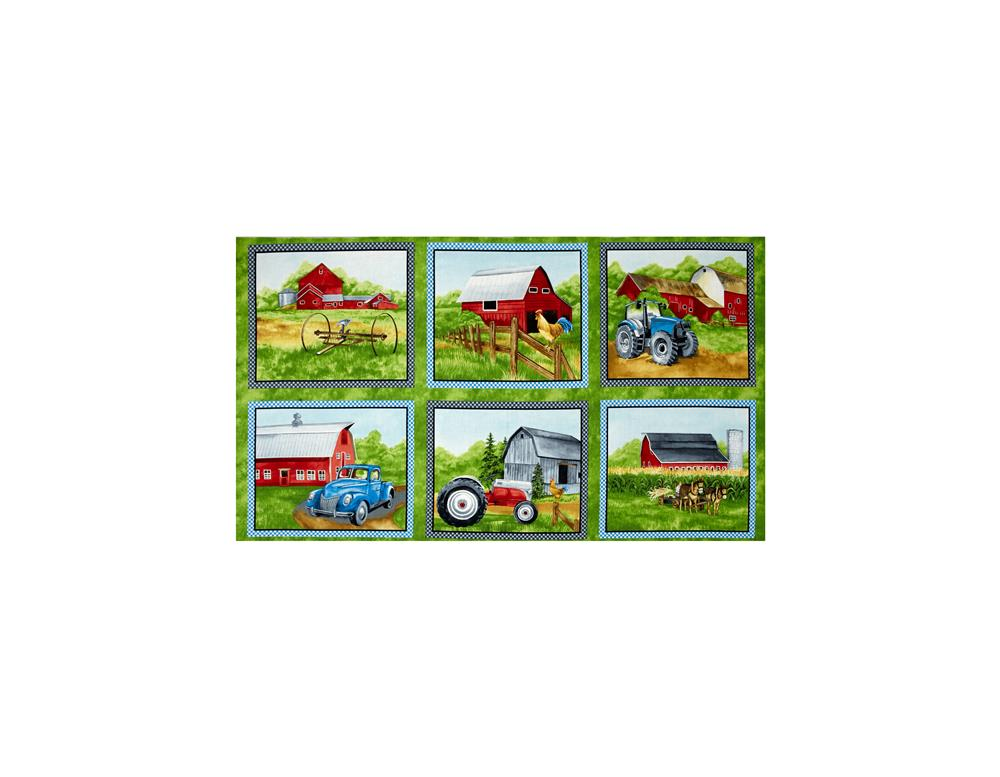 Green Mountain Farm 24 In. Craft Panel Multi