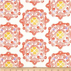 Ty Pennington Home Decor Sateen Fall 11 Delhi Orange