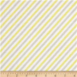 Riley Blake Oh Boy! Stripe Yellow