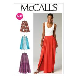 McCall's Misses' Skirts Pattern M6931 Size 0Y0