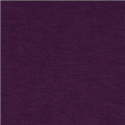 Stretch Rayon Jersey Knit Plum