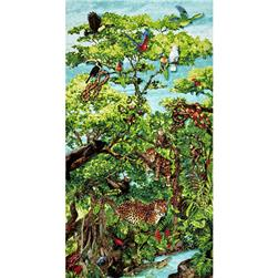 Rainforest Romp Rainforest Panel Multi