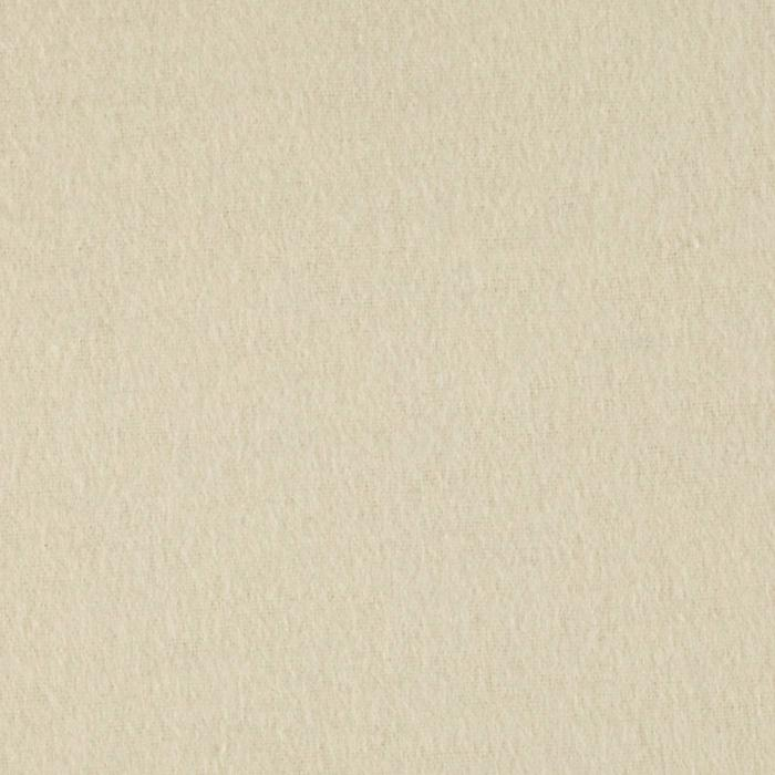 Comfy Double Napped Flannel Ivory Fabric By The Yard