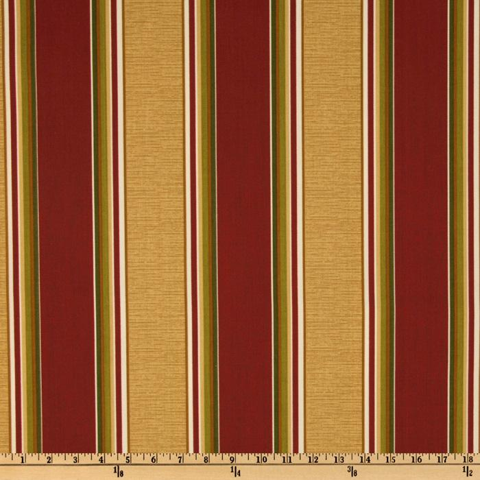 Richloom Indoor/Outdoor Westwind Stripe Pompeii