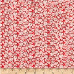Moda 30's Playtime 2017 Posy Patch Scarlet