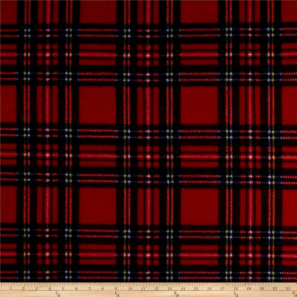 fleece plaid stewart tartan red royal discount designer. Black Bedroom Furniture Sets. Home Design Ideas