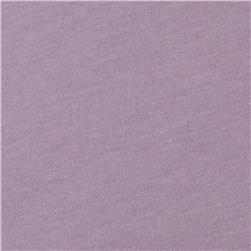 Jersey Knit Solid Cool Lilac