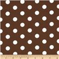 Spot On II Polka Dots Brown/White