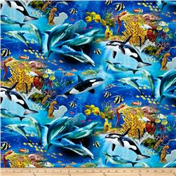 Animal Reign Born To Be Free Digital Print Multi