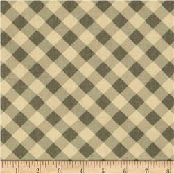 Premier Prints Checker Plaid Storm Natural