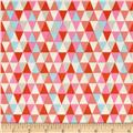 Timeless Treasures Forest Frolic Triangles Multi