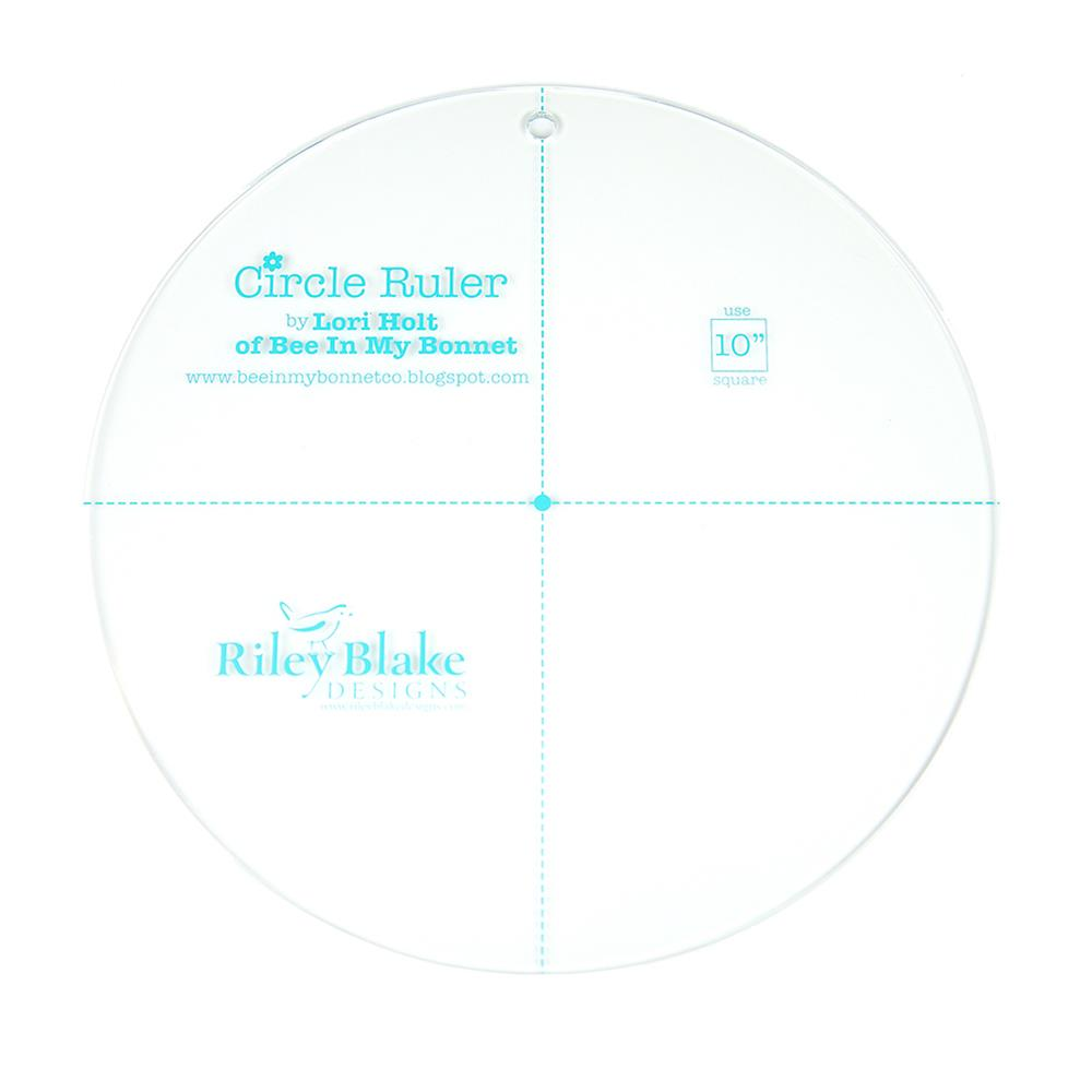 Lori Holt Circle Ruler 10""