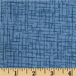110 In. Wide Quilt Back Betula Blue Fabric