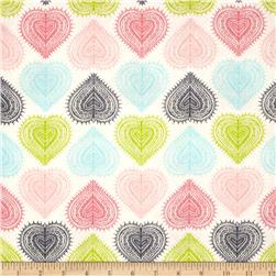 Love Letters Hearts Multi