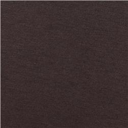 Organic Cotton Jersey Knit Chocolate Brown Fabric