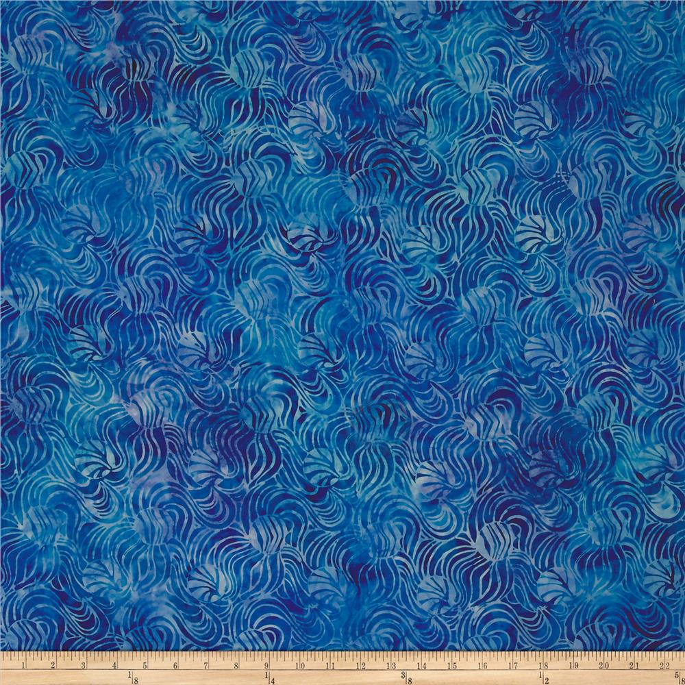 Timeless Treasures Tonga Batik Riviera Waves Splash