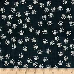 Paw Prints Denim