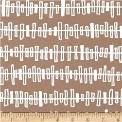 Kaufman Blueberry Park Zipper Stripe Cobblestone